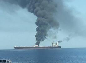 Iranian tanker hit by suspected missile strike near Jeddah