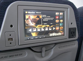 Video: Seatback video screens on passenger airplanes might get harder to find