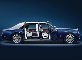 For the truly driven: Rolls-Royce Phantom with Privacy Suite