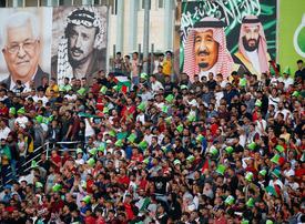 Saudi Arabia, Palestine draw in landmark West Bank game