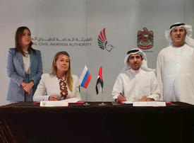 UAE, Russia sign agreement to expand flights between countries