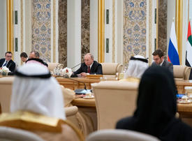 Russia willing to help UAE on nuclear programme, says Vladimir Putin