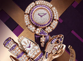Bulgari sparkles in amethyst with the launch of its Serpenti Amethyst Capsule Collection