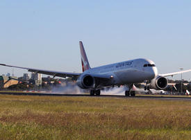 On board the world's longest flight with Qantas Airways