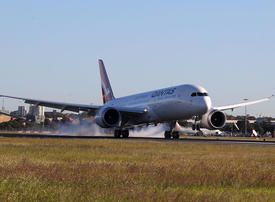 In pictures: Qantas record-breaking ultra-long-haul flight from New York to Sydney