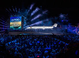 In pictures: Gulfstream's new G700 - the world's biggest luxury private jet