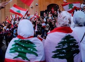 Thousands keep up street pressure on Lebanon's political class