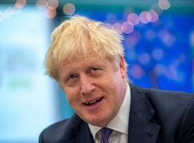 Boris Johnson hails 'political earthquake' after big election victory