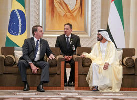 In pictures: Sheikh Mohammed meets Brazilian President Jair Bolsonaro