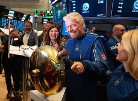 Abu Dhabi-backed Virgin Galactic jumps in NYSE debut