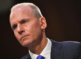 Boeing crisis deepens as chief executive Dennis Muilenburg is axed