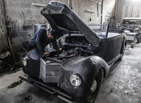In pictures: Palestinian who restores vintage cars as a hobby