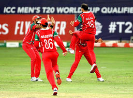 Oman overcome Hong Kong to reach T20 World Cup finals in Australia
