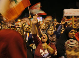 Lebanese keep protest alive in northern city of Tripoli