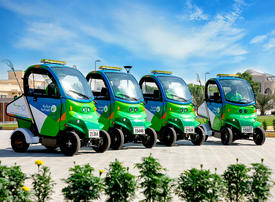 Bee'ah adds electric mobile waste collection units to its fleet
