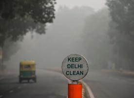 Indian capital Delhi gasps under choking smog
