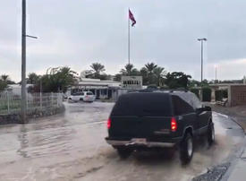 Torrential rain and thunder storms cause chaos in UAE