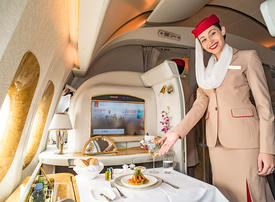 Video: What it takes to be a first class flight attendant for Emirates