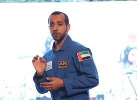 UAE astronaut Hazzaa al-Mansoori urges climate protection on Earth