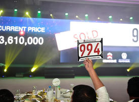 Sharjah Police raises over $3.6m from number plate sale