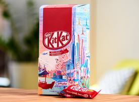 KitKat ties up with Emirati artist for UAE National Day chocolate box