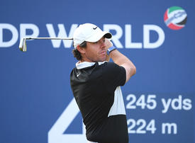 Opening 64 leaves McIlroy one shot off the lead in Dubai