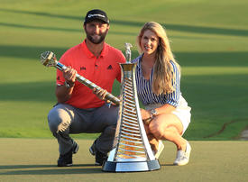 Jon Rahm sinks $5m putt to win Race to Dubai, DP World Tour Championship double
