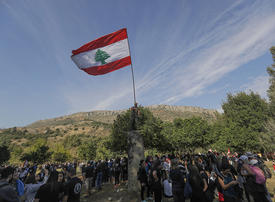 Lebanon anti-graft protesters march for nature too