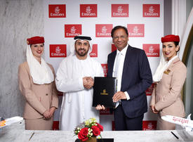 Emirates named as first codeshare partner for India's SpiceJet