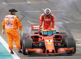 In pictures: The 10 best photographs from last year's F1 Abu Dhabi GP