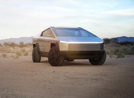 In pictures: Elon Musk's Tesla Cybertruck electric pickup