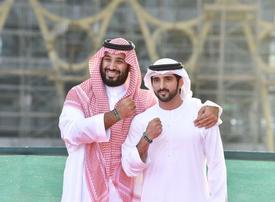 Saudi crown prince tours Expo 2020 Dubai site during state visit