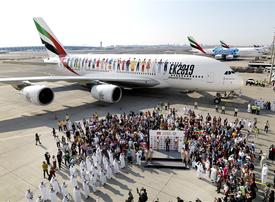 How Emirates set new world record with flight EK 2019