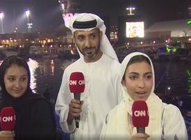 Female Emirati racer drives into history books in Abu Dhabi