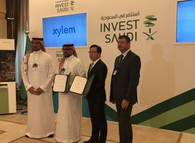 Water tech company Xylem pens agreement to boost Saudi water security