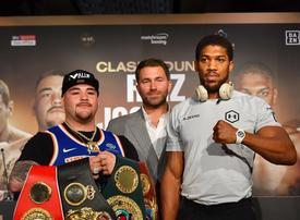 In pictures: Anthony Joshua, Andy Ruiz ahead of 'Clash on the Dunes' in Riyadh