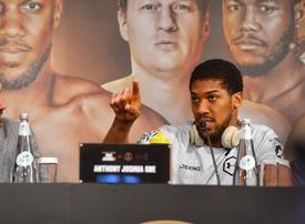 Anthony Joshua 'hungry, determined and focused' ahead of Andy Ruiz fight in Riyadh