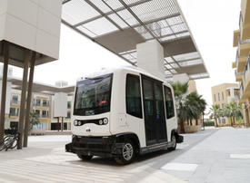 Driverless vehicles get test drive in Dubai Silicon Oasis