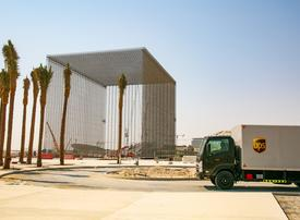 UPS completes delivery of Expo 2020 Dubai site entry portals