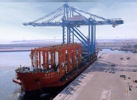 New quay cranes add capacity at Fujairah Port