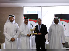 Olympics chief hails UAE for hosting 'very successful sports events'