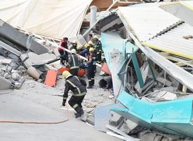 Two killed and 13 injured after university building collapses in Riyadh