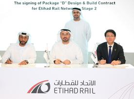 Etihad Rail awards $1.25bn deal for UAE's national railway