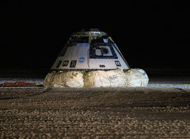 In pictures: Boeing's Starliner returns to earth
