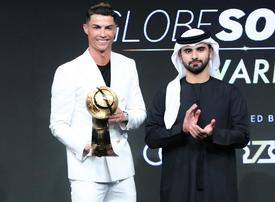 UAE awards 'gold card' residency visa to Cristiano Ronaldo