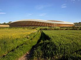 Zaha Hadid Architects design 'greenest football stadium in the world'