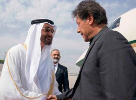 Crown Prince of Abu Dhabi Sheikh Mohamed visits Pakistan