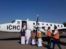 Six Saudi prisoners freed in Yemen return home