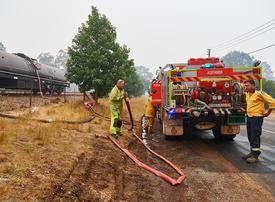 Australian firefighters say 'megablaze' brought under control