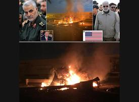 In pictures: US killing of Iranian general Soleimani at Baghdad airport
